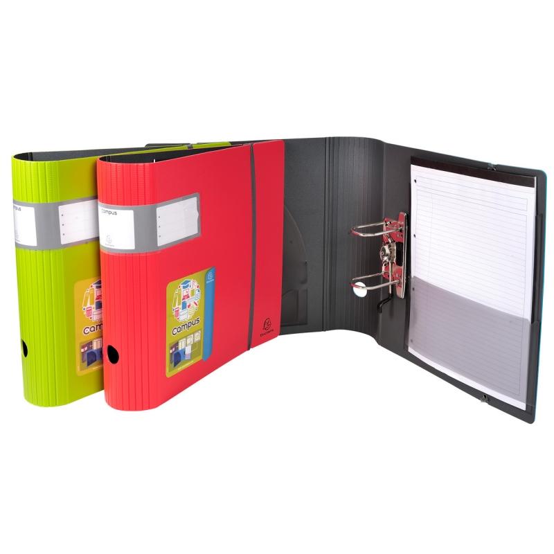 Папка-регистратор с принтом ВИШНЯ из ламинированного картона 80 мм А4