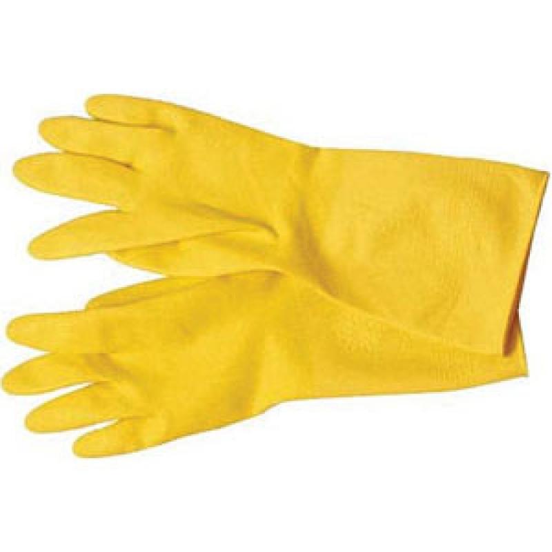 Перчатки латексные хозяйственные универсальные. . Подходят для уборки поме